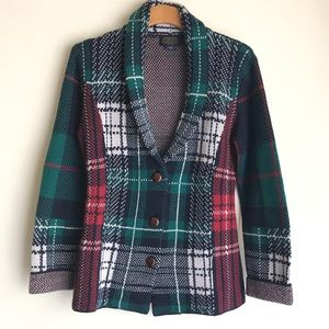 {Pendleton} Tartan Plaid Cardigan Size M